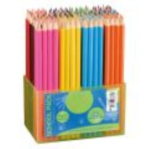 Oz international Schoolpack de 144 crayons de couleur assortis