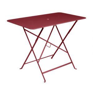 Fermob Bistro - Table de jardin rectangulaire pliante en acier 97 x 57 cm