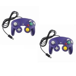 Straße Game 2 X Manettes Pour Nintendo Wii, Wii U Et Gamecube - Violet