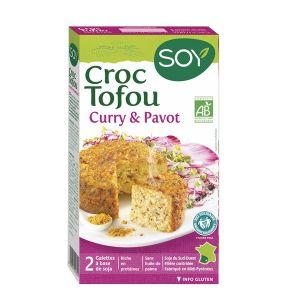 Soy Croque tofu curry & pavot 2x100g