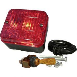 HP Autozubehör Ampoule à incandescence Feu de brouillard arrière feu antibrouillard arrière arrière 12 V rouge