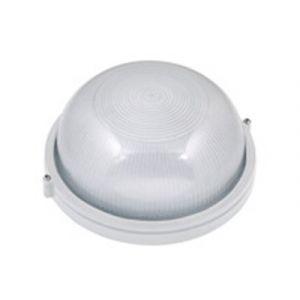 Horoz Electric Hublot rond blanc 60W (Eq. 12W FLC - 8W LED) IP54 E27 Diam. 180mm