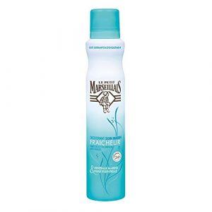 Le Petit Marseillais Déodorant spray Soin Marin fraîcheur 24h aux Minéraux Marins & Huile Essentielle
