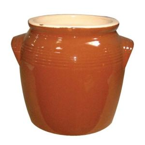 Digoin ceramique Pot à gras en grés traditionnel (4,3 L)