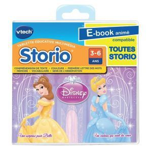 Vtech Jeu tablette storio : Disney Princess