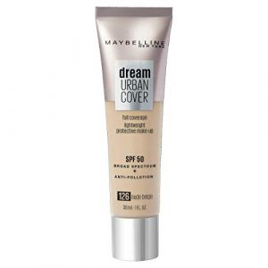 Maybelline Gemey Dream Urban Cover Foundation 126 Nude Beige (30ml)
