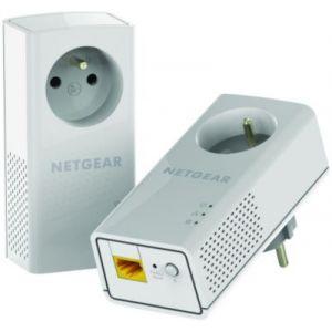 NetGear PLP1200-100FRS - CPL Duo Nano 1200 mégas avec prise électrique