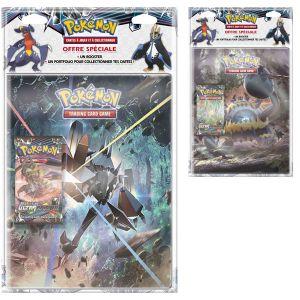 Asmodée Cahier range-cartes Sl05 Pokémon Lune Et Soleil avec booster