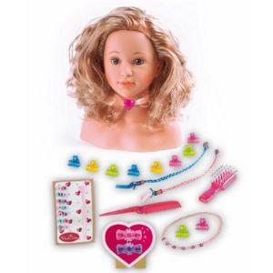 Klein Tête à coiffer Princess Coralie (33 cm)