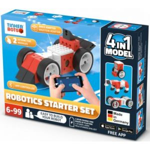 Tinkerbots Robotics Starter Set - Robot programmable