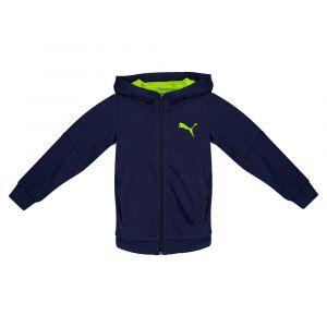 Puma Sweatshirts Hero Full Zip Tr Hooded - Peacoat - Taille 128