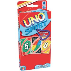 Mattel Uno Sport imperméable (version tout terrain avec cartes imperméables)