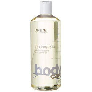 Huile de Massage à l'Huile de Graine de Soja et Germe de Blé - 500 ml