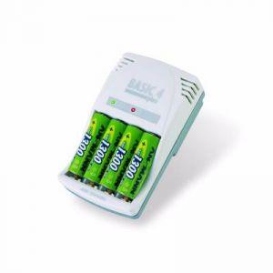 Ansmann Basic 4 Plus chargeur de piles AA, AAA ou V9