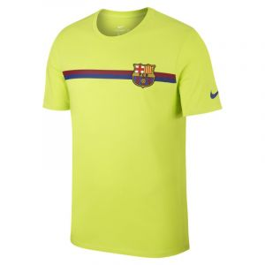 Nike Tee-shirt FC Barcelona Crest pour Homme - Vert - Taille S - Male