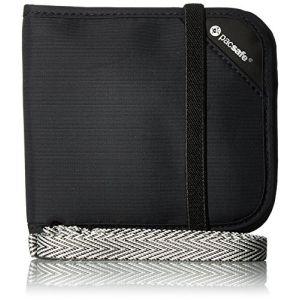 PacSafe RFIDsafe V100 - Porte-monnaie - noir Porte-monnaie de voyage