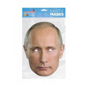 Masque carton Vladimir Poutine Taille Unique