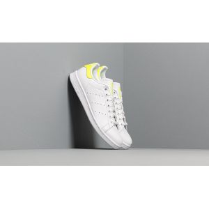 Adidas Stan Smith, Chaussures de Gymnastique Homme, Blanc Solar Yellow/FTWR White, 43 1/3 EU