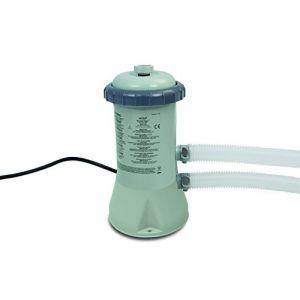 Intex 600 GPH Cartridge Filtre Pump (12 V), Gris, 17.1 x 18.4 x 32.8 cm, 28604 GS