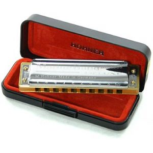 Hohner MARINE BAND DELUXE 10 TROUS F FA
