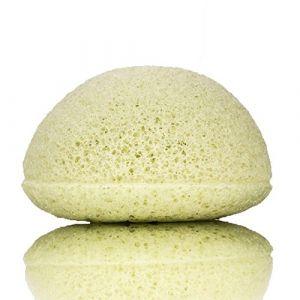 Kongy L'éponge konjac à l'argile verte pour les peaux mixtes