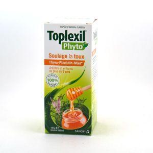 Sanofi Toplexil Phyto Soulage la Toux - Thym Plantain Miel 180g