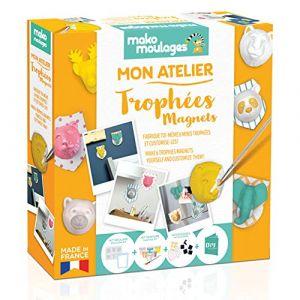 Mako moulages Mon Atelier Trophées Magnets - Coffret Loisirs créatifs