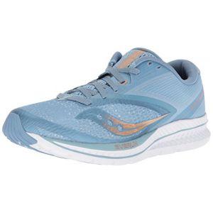 Saucony Kinvara 9, Chaussures de Fitness Femme, Bleu (Lt Blu/Den/Cop 30), 38.5 EU