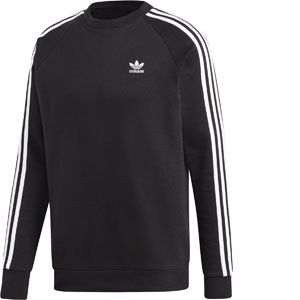 Adidas 3-Stripes Crew sweat Hommes noir T. XL
