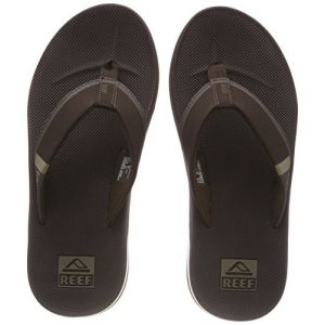 Reef Entertainment Reef Fanning Low, Tongs Homme, Marron (Brown Bro), 45 EU