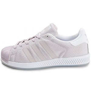Adidas Superstar Bounce W, Sneakers Basses Femme, Rose (Ice Pur/Ice Pur/Ftwwht), 37 1/3 EU