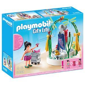 Playmobil 5489 City Life - Styliste avec podium lumineux