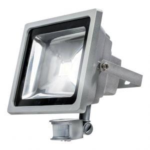 AS Schwabe LED Spot avec détecteur de mouvement 12 W, silber 20 wattsW 230 voltsV - as - Schwabe