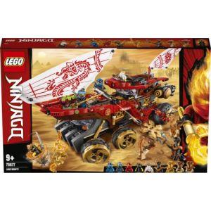 Lego -Le Q.G des Ninjas Ninjago Jeux de Construction, 70677, Multicolore