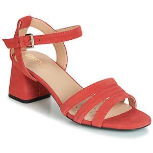 Geox Sandales D SEYLA SANDAL MID rouge - Taille 36,37,38,39,40