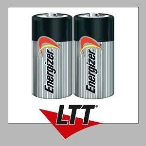 Energizer 2 piles alcalines C LR14 1.5V Classic