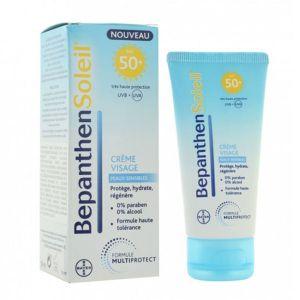 Bayer Bepanthen Soleil - Crème visage FPS50+