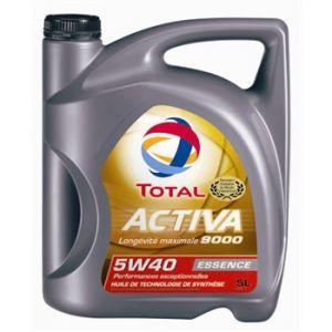 Total Huile moteur Activa 9000 5W40 essence 5 L