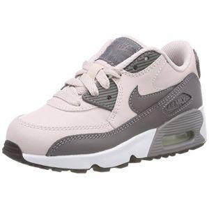 Nike Air Max 90 LTR (PS), Chaussures de Gymnastique Fille, Rose (Barely Rosegunsmokewhitebla 601), 27.5 EU