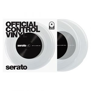 "Serato 7"" Performance Series Control Vinyl x2 (Clear)"