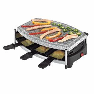 Domoclip DOM223 - Set à raclette avec pierrade pour 6 personnes