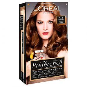 L'Oréal Preference Infinia 5.3 Virginia Chestnut Brown Hair Dye