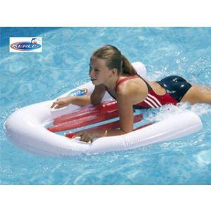Kerlis Planche de surf à fond transparent (110 cm)