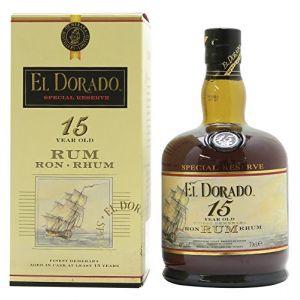 El Dorado 15 ans - Rhum origine Guyana Demerara - 70cl