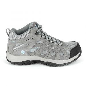 Image de Columbia Femme Chaussures Multisport, Imperméable, Canyon Point Mid, Gris (Light Grey, Oxygen), Pointure : 36