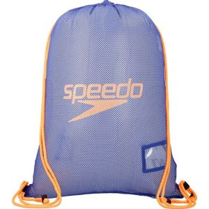 Speedo Equipment Mesh Sac de Natation Mixte Adulte, Ultramarine/Fluo Orange, Taille Unique
