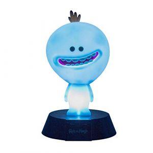 Paladone Autre - Rick & Morty veilleuse 3D Icon Mr Meeseeks 10 cm Pro