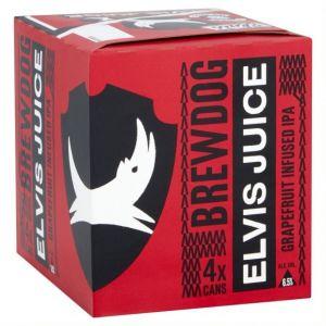 Brewdog elvis juice 4x33 cl boite