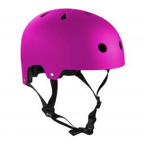 SFR Essentials Helmet Casque Unisexe Enfant, Mixte Adulte, H159_57-59 cm_Rosa (Matt Fluo), Rose (Matt Fluo), 57-59 cm