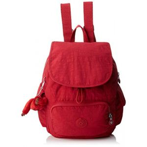 Kipling Sac à dos femme City Pack S B Radiant Red C rouge